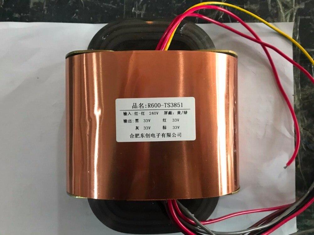 33V 4.5A 33V 4.5A 33V 4.5A 33V 4.5A R Core Transformer 600VA R600 custom transformer 240V copper shield Power amplifier 2500pcs zmm33v ll 34 zmm 33v 1 2w 1206 33v 0 5w smd
