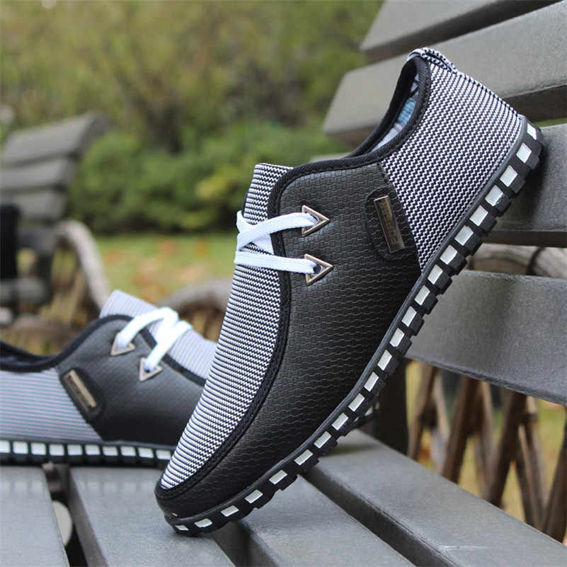 Модная обувь для вождения мужские туфли на плоской подошве без застежки итальянские лоферы на плоской подошве мужская повседневная обувь zapatillas hombre размер 38-47