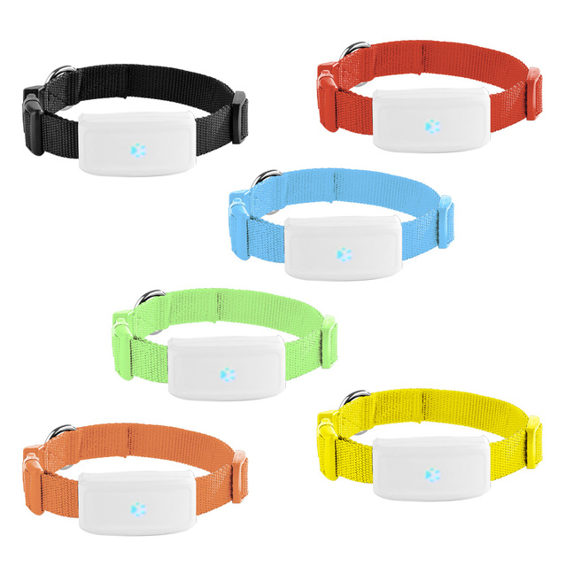 Lexitek Popular Mini Pet Tracker With Collar GSM/GPRS Positioning Real Time GPS Tracker Dog Pet TK911