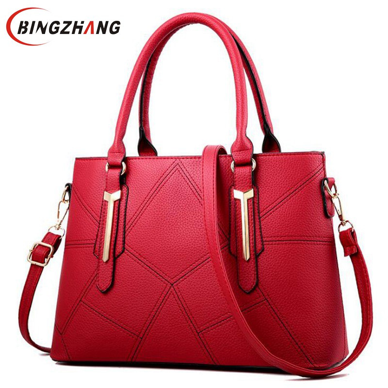 Women Leather Handbags Women Shoulder Bag Women Thread Bag Female Designer Handbag High Quality Sac a Main Crossbody Bag L4-3165 kzni genuine leather handbag women designer handbags high quality phone bag purses and handbags pochette sac a main femme 9022
