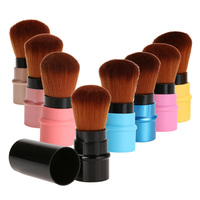 T2N2 8pcs Set Retractable Mini Soft Cosmetic Brush Makeup Contour Foundation Blusher Face Powder Brushes Beauty