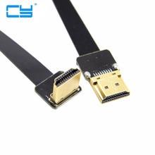 FPV HDMI Tipo A Para Angular HDMI HDTV Cabo FPC Plana  20 cm 30 cm 50 cm 100 cm 1ft  3ft para Multicopter Fotografia Aerea fx3ga 40mt cm