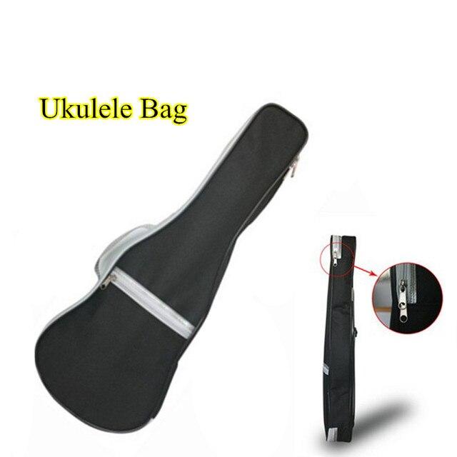 """High Quality 21""""23""""26'' Inch Padded Ukulele Bag Gig Bag Guitar Bag/ Case For Acoustic Guitar Black"""