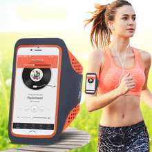 Waterproof ultra-thin mobile phone arm bag running multi-function outdoor sports band