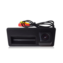 Car Trunk Handle Camera Rear View HD Camera for Audi A4 S5 Q3 Q5 for VW Passat Tiguan Passat Touran Touareg