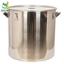 170L برميل مستقيم مع غطاء ، علبة الحليب ، الفولاذ المقاوم للصدأ دلو للبن ، حاوية السائل