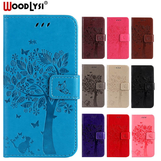 WoodLysi Luxury PU Leather Case Cover For ZTE Zmax Pro / ZTE Z981 Case Flip Phone Protective Back Cover Bag