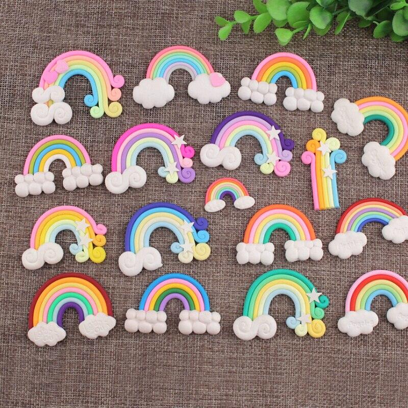 CCINEE Rainbow Resin Multiple Styles Diy Resin Accessories DIY Craft Supplies