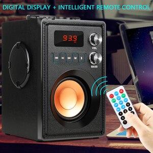 Image 3 - TOPROAD altavoz portátil inalámbrico con Bluetooth, altavoz estéreo de graves de gran potencia de 20W, Subwoofer con soporte para Control remoto, Radio FM, TF y AUX