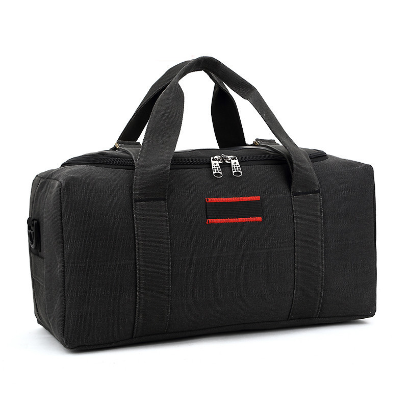 Travel Storage Bags Portable Shoulder Bags Large Capacity Canvas Men Women Tourism Luggage Bag Handbags Clothes Shoes Organizer