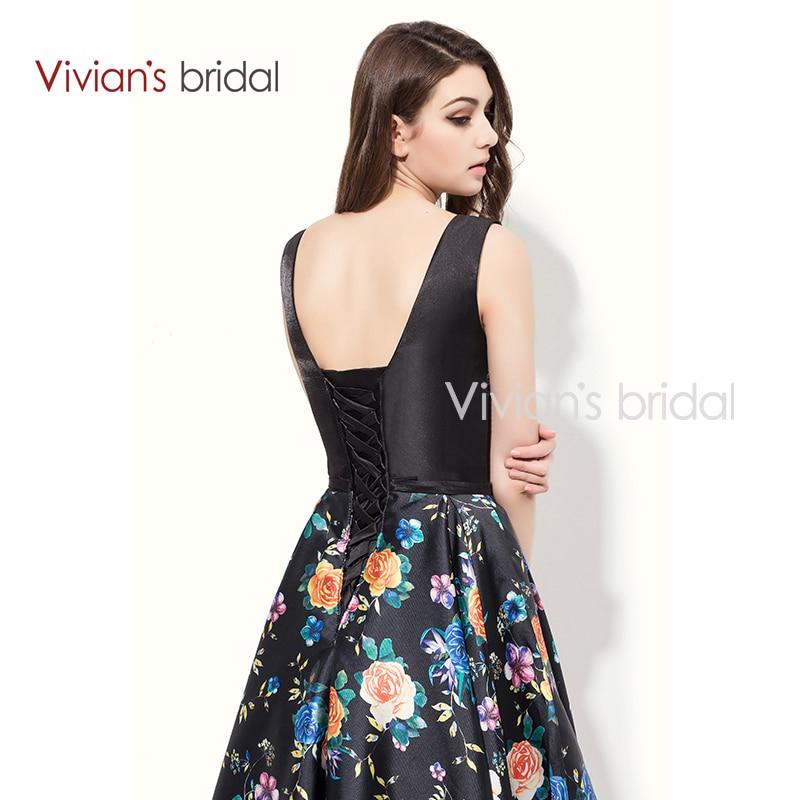 Vivian der Braut A linie Abendkleid Bodenlangen Sleeveless ...