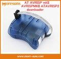 Livre o Navio Programador downloader AVRISP mkII ATAVRISP2 AVRISPMKII (compatível com o original) Suporte para ATMEL STUDIO 4/5/6/7 IC