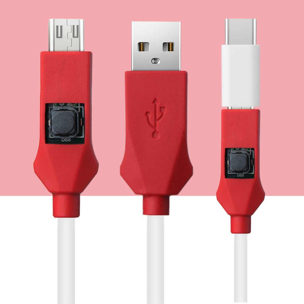Bloklar için mühendislik derin flaş kablosu Xiaomi telefon modelleri açık bağlantı noktası 9008 adaptör kablosu