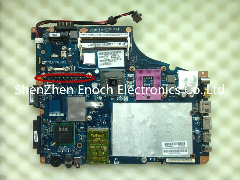 ФОТО K000069530  For Toshiba Satellite A350 A355  Laptop Motherboard  KTKAA LA-4571P  stock No.999