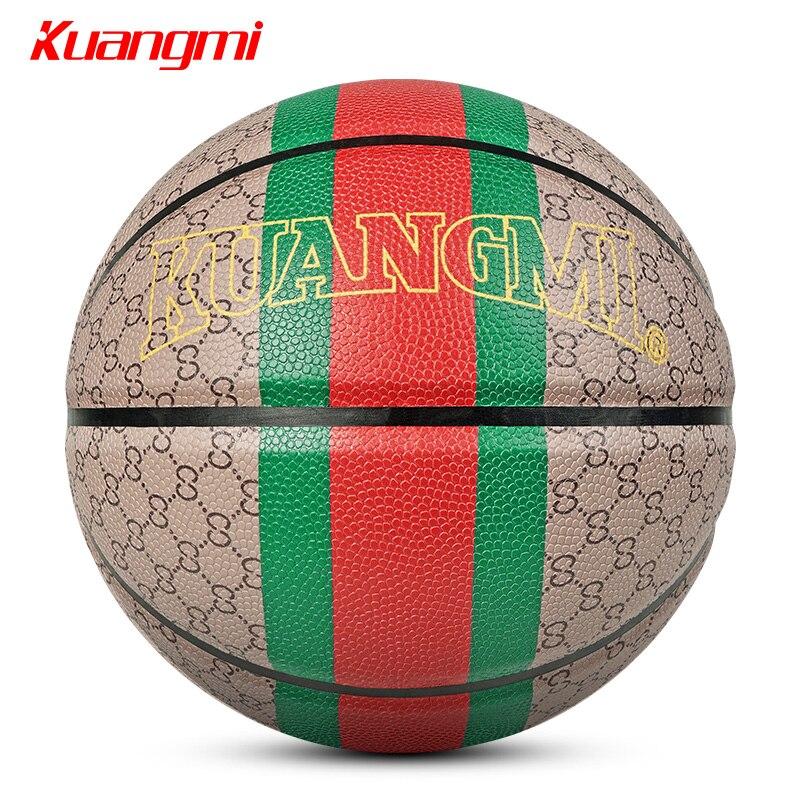 Kuangmi classique Style balle basket PU matériel taille 7 jeu de basket rue entrainement accessoires basquete baloncesto