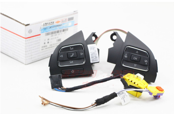 Multifunction Steering Wheel Airbag BUTTON SWITCH AND Wire Cable harness FOR VW Sharan 56D 959 537