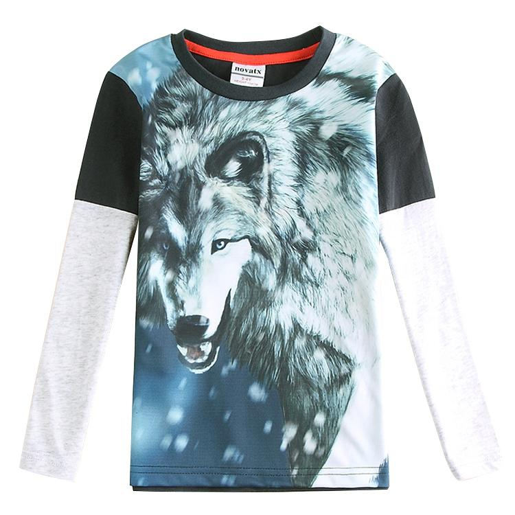 74c76f4fb53 2018 boys wolf 3d long sleeve t shirt