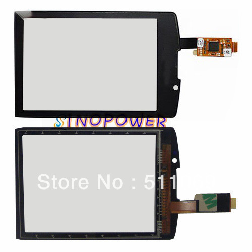 HQ mobile phone touch screen digitizer for Blackberry torch 9800 by free shipping; Black