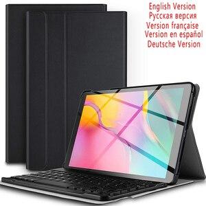Image 1 - Máy Tính Bảng 10.1 Inch Bluetooth Đèn Nền Bàn Phím Cho Samsung Galaxy Tab A 10.1 2019 SM T510 SM T515 Kèm Bao Da