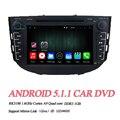 "5.1.1 2din Android Dvd-плеер Автомобиля Для Lifan X60 Quad-Core 7 ""1024*600 Сенсорный Экран GPS навигация Стерео Радио"