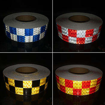 5cmx5m Safety Mark Reflective tape stickers car-styling Self Adhesive Warning Tape Automobiles Motorcycle Reflective Film 5cmx3m safety mark reflective tape stickers car styling self adhesive warning tape automobiles motorcycle reflective material