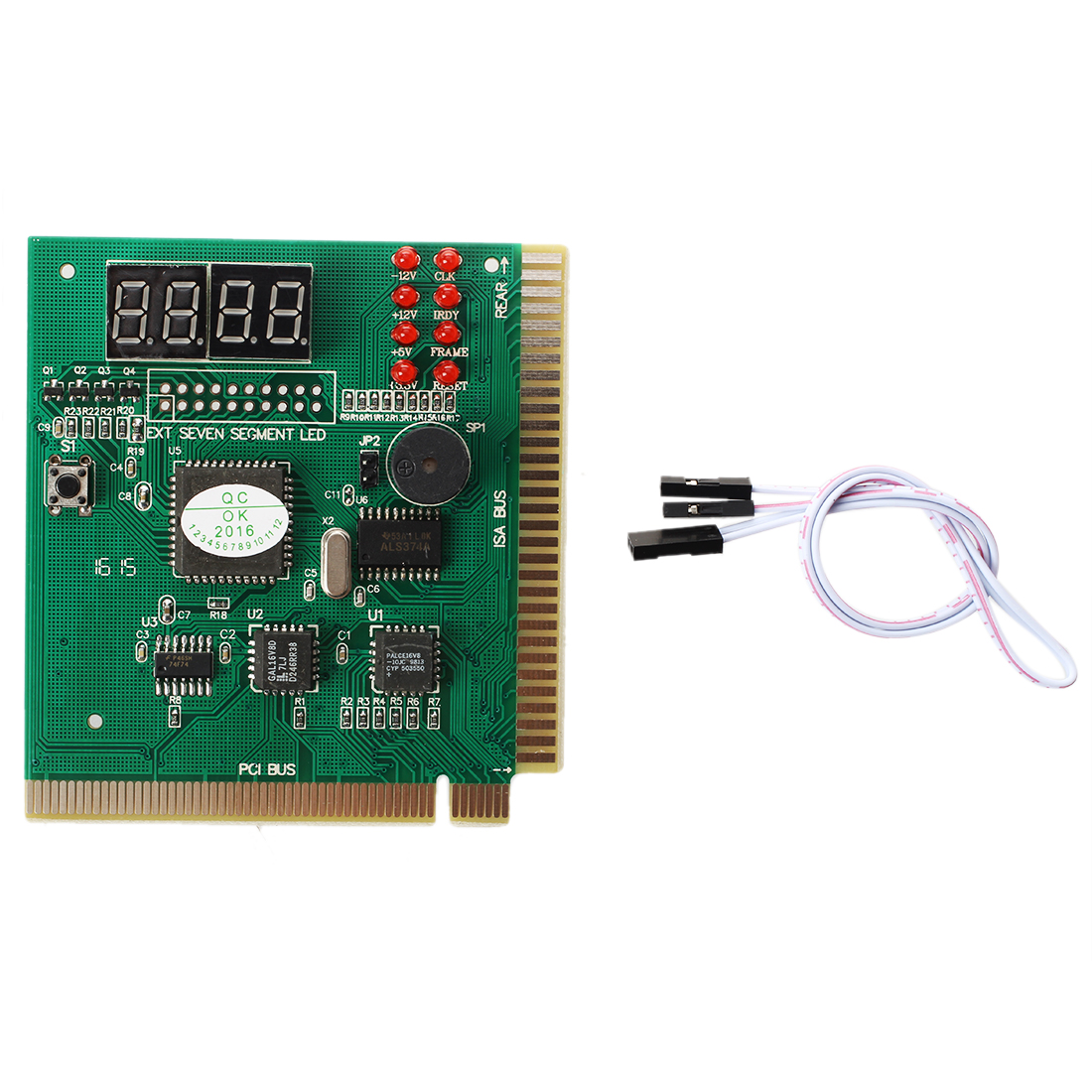 MOOL Diagnostic Analyzer Card For Motherboard-PCI ISA