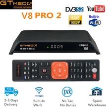 2019 NEW Arrival GTMedia V8 Pro2 Full HD DVB-S2+T2+Cable Satellite TV R