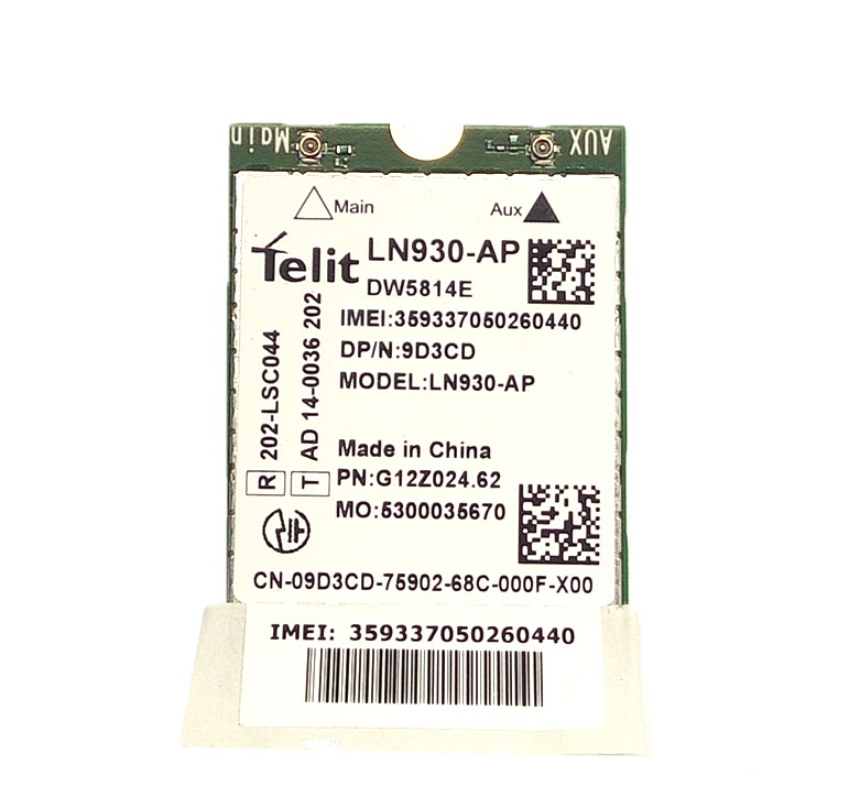 SSEA New 4G module For Dell DW5814E LN930-AP WWAN 4G NGFF CARD for Latitude 14