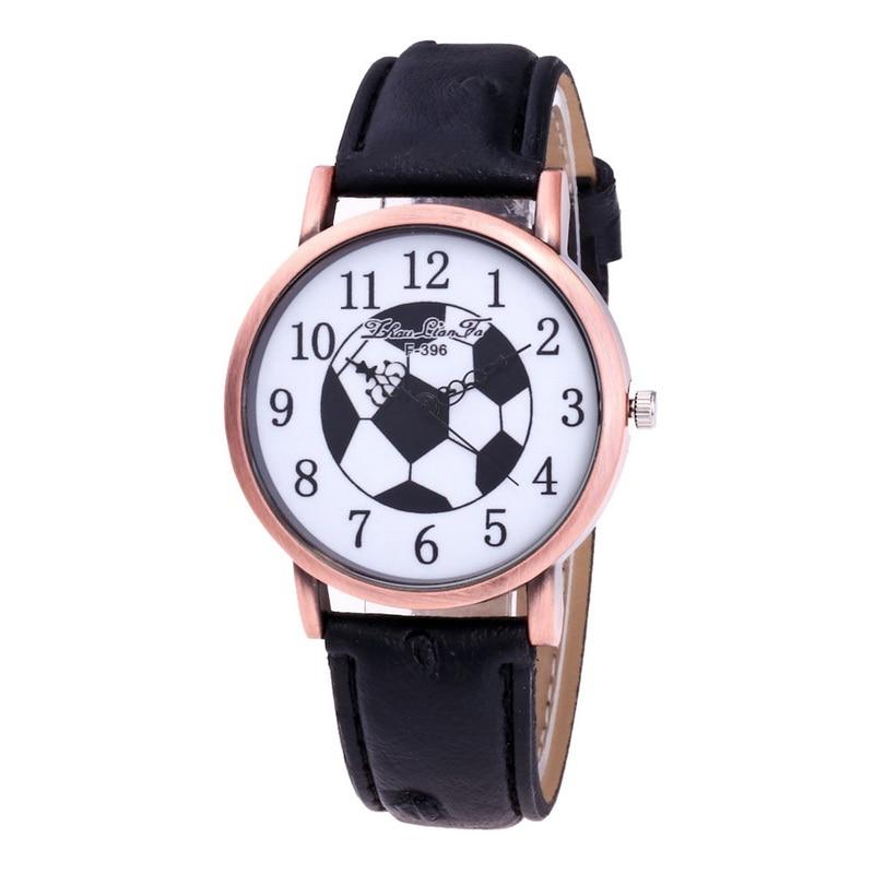 FUNIQUE 2018 Vintage Sport Quartz Horloges voor Dames Heren Voetbal - Dameshorloges