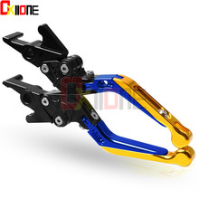 CNC Foldable Extendable Motorcycle Accessories Aluminum Brakes Clutch Levers for kawasaki VERSYS 650cc ZX10R ZZR/ZX1400 S