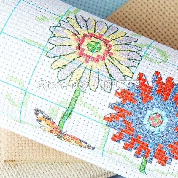 Chino Fishxx Cruz puntada del bordado kit diy flores corona y pájaro ...