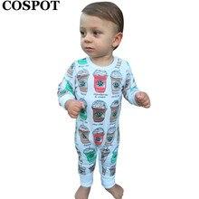 #31# Cute Baby Boys Girls Cotton Romper Newborn Autumn Spring Jumpsuit One Piece Retail