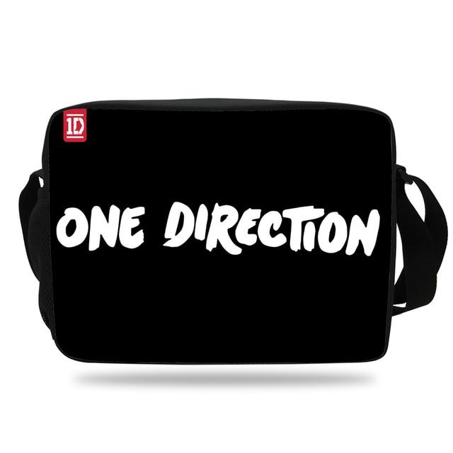 2017 Hot One Direction Shoulder Bag Boys Messenger Bags For School S Agers Children