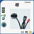 Super 1MP 720 P HD P2P Onvif H.264 Sd-kartenspeicher Mini Ip-kamera Pin Loch Unterstützung Telefon Videoüberwachung CCTV IP Cam