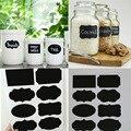 40PCS Chalkboard Lables New Wedding Home Kitchen Jars Blackboard Stickers  Multi Size Wholesale Retail