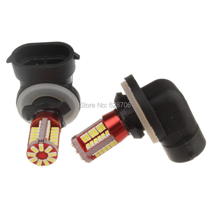 Новое поступление, светодиодная передняя противотуманная фара для автомобиля H27 881 H27W/2 862 886 894 896 57 smd 898, дневная лампа 12 В, 2 шт.