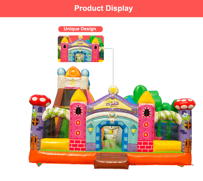HTB17SuGbyIRMeJjy0Fbq6znqXXaa - You-Toys Huge Commercial Bouncy Inflatable Castle House Magic Garden Bounce House Kids Playground