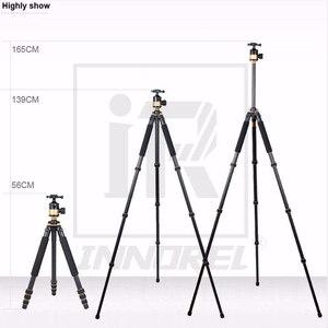 Image 3 - QZSD Q1000C คาร์บอนไฟเบอร์ Professional ขาตั้งกล้อง 45 มม. Panoramic Ballhead 28 มม. หลอด 15 กิโลกรัมหรูหราสำหรับกล้อง DSLR