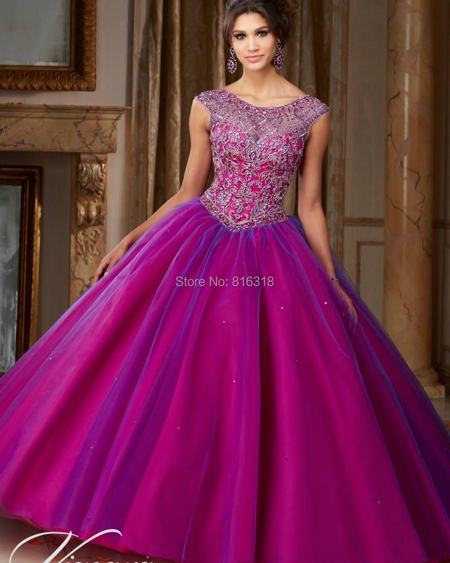 Bonito Vestido De Novia Púrpura Con Mangas Modelo - Ideas de Vestido ...