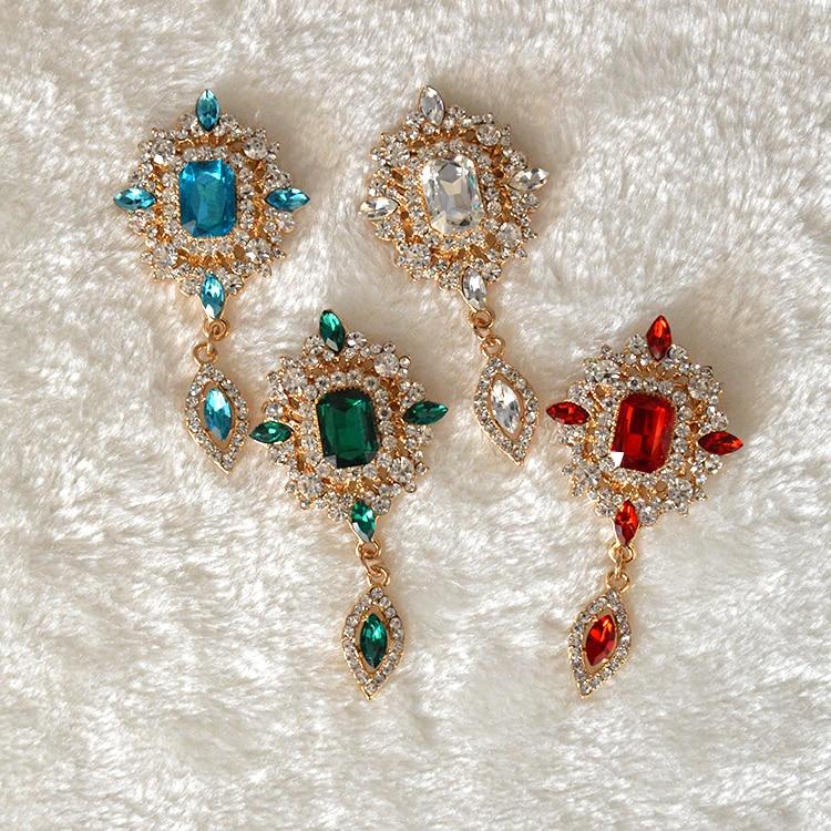 MZC էժանաչ կանաչ բյուրեղյա ջրային - Նորաձև զարդեր - Լուսանկար 3