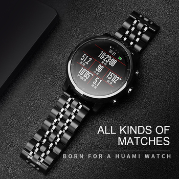 stainless steel bands for samsung galaxy watch s5 42mm 46mm watchbands gear sport s2 s3 s4 milanese loop magnetic buckle strap 20mm 22mm Stainless Steel Band For Amazfit Strato 2 3 Samsung Gear Sport S2 S3 Galaxy 42mm 46mm Watch Strap Metal Wristband