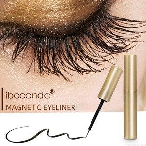 Image 3 - Waterproof Magnetic Eyeliner For Magnets Eyelashes Quick Drying Sweat proof Long lasting Big Eyes Makeup Liquid Eyeliner TSLM2