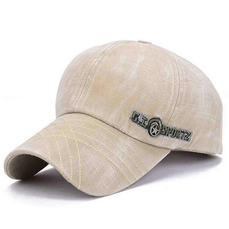100% katoen unisex mode heren gewassen baseball cap vrouwen snapback - Kledingaccessoires