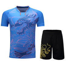 Tracksuit Jersey Table Tennis Sets Breathable Badminton Shirt Uniforms Women Men Ping Pong Gym Training Short Sleeve Sport Suits new china flag dragon table tennis sets men or women ping pong tracksuit sport sets table tennis clothes table tennis suits