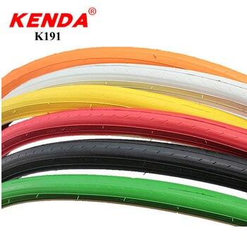 KENDA bicicleta pneus pneus 700C 700 * 23C ultraleve 440g cor engrenagem fixa bicicleta de estrada pneu 700 23C 110 PSI ciclismo acessórios