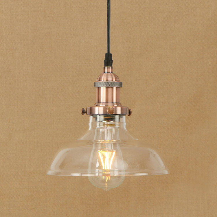 IWHD Glass Vintage Lamp Led Pendant Lights American Style Loft Industrial Lighting Lampen Kitchen Retro Light e27 220v For Decor edison inustrial loft vintage amber glass basin pendant lights lamp for cafe bar hall bedroom club dining room droplight decor