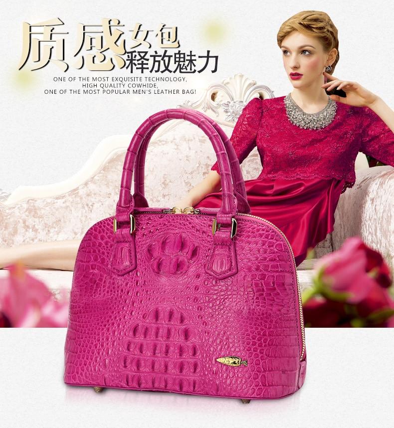 Echte Umhängetasche Messegner Krokodilleder Geldbörse Frauen Shell Handtasche 100 Tasche Authentische 0vHUx0wq