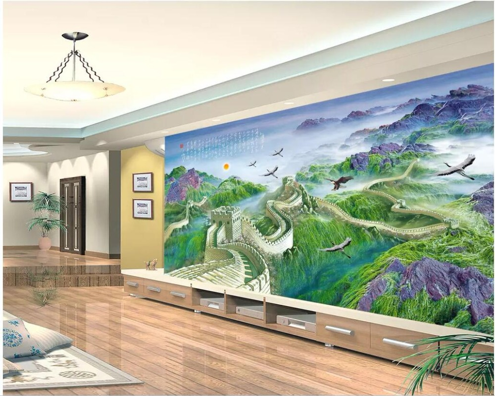 3d photo wallpaper custom mural Chinese Mao Zedong's ...