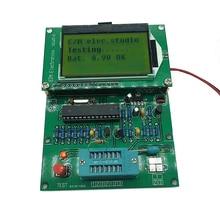 Новый GM328 профессиональный электронный компонент Тест Транзистор прибор для замера, измеритель емкости Измеритель ЖК-дисплей Дисплей измерение диода