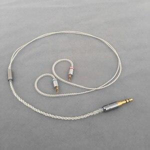 Image 3 - Diy אוזניות חוט קצר כבל 45cm 50cm MMCX ie80 im50 ue900 tf10 A2DC 0.78qdc